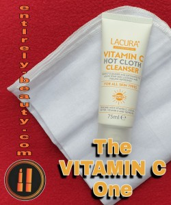 Lacura's fruity smelling Vit C cleanser is comparable to Rodial Vit C brightening cleanser.