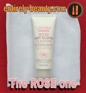 The Lacura Rose Hot Cloth Cleanser is similar to one that REN skincare off but at a fraction of the cost