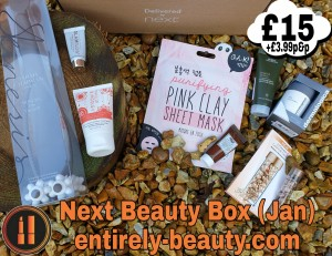 The Next Beauty Box - a non subscription box that appears on Next's Website - usually around the start of each month.