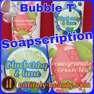 January's Soapscription Box from Bubble T