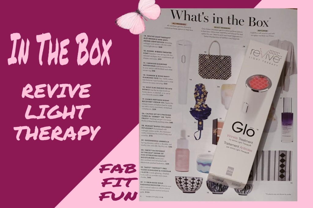 The reVive Light Therapy Glo Wrinkle And Anti-Ageing Light Device