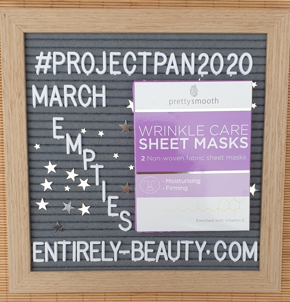 Two affordable sheet masks from Pretty Smooth in one handy pack!