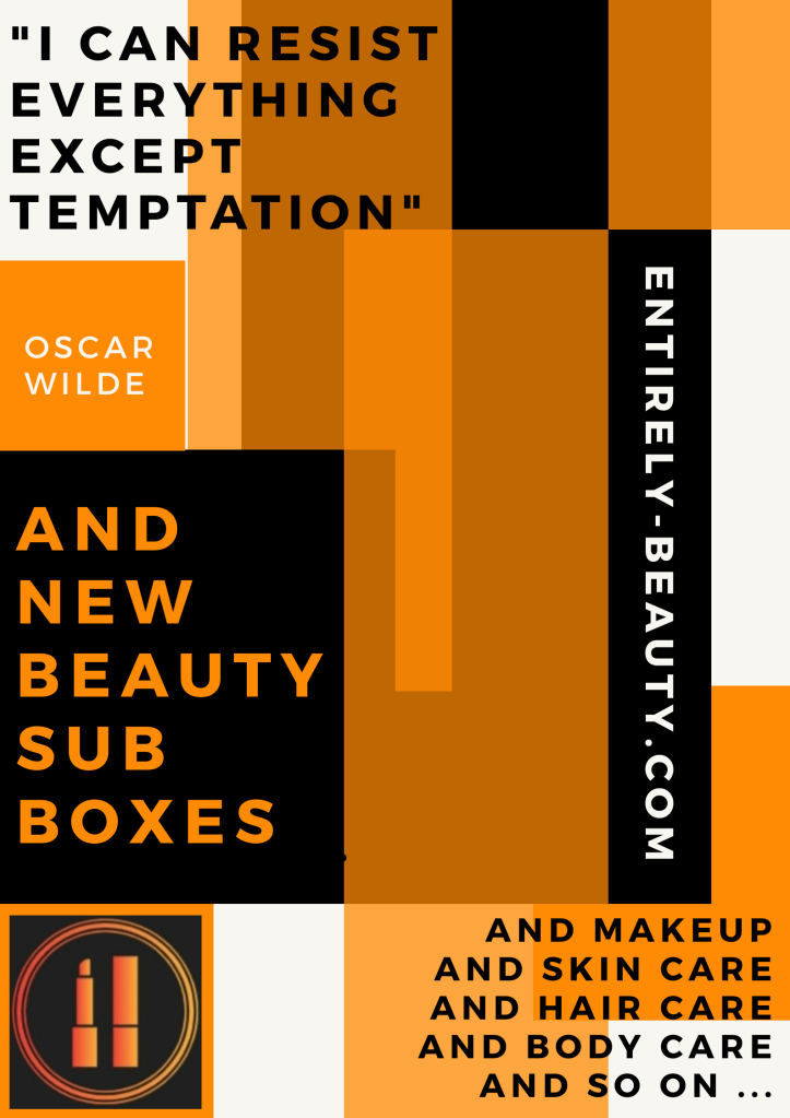 In case it's not already apparent I am a total beauty junkie and this text image, with the help of Mr Wilde, sums me up! Beauty is my  passion and that's what drives my blog.