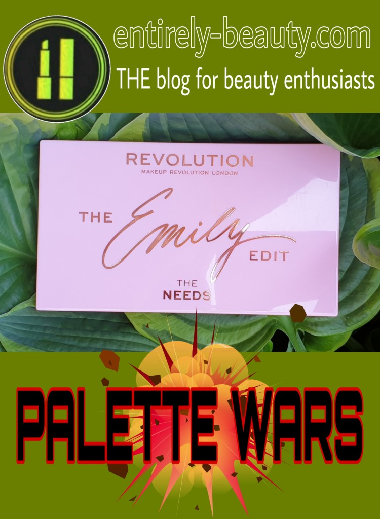 Emily's The Needs palette, in collaboration with Revolution is pretty, pink and practical!