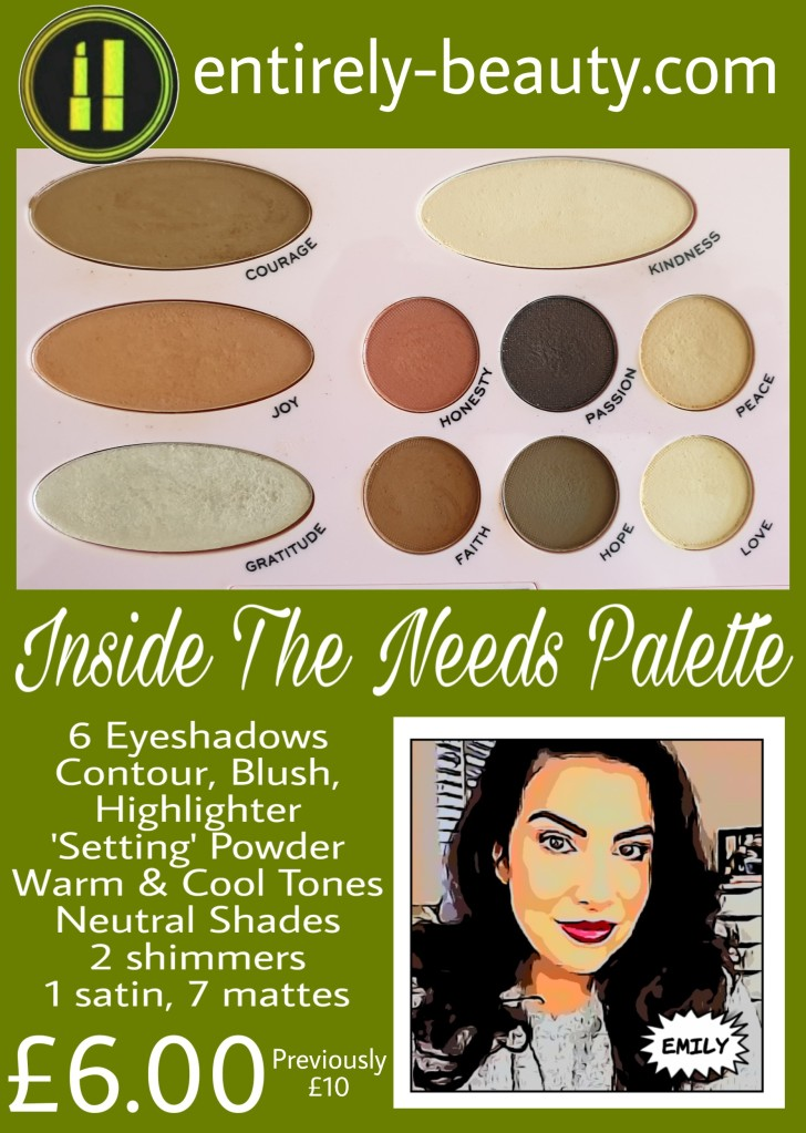 Emily's beautiful palette, The Needs, has more than meets the eye!